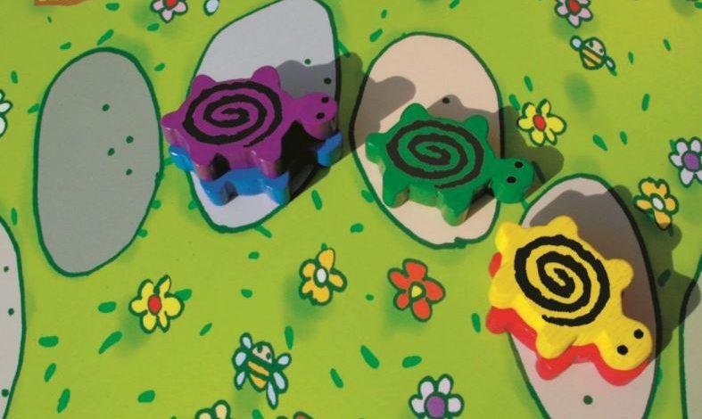 Trafione prezenty dla dzieci – gra Pędzące Żółwie